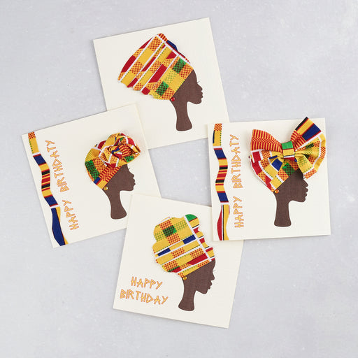 Colourshot Cards, 3D Headwrap Card