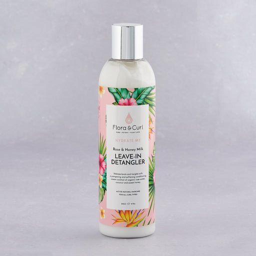Flora & Curl, Organic Rose & Honey Milk Detangler