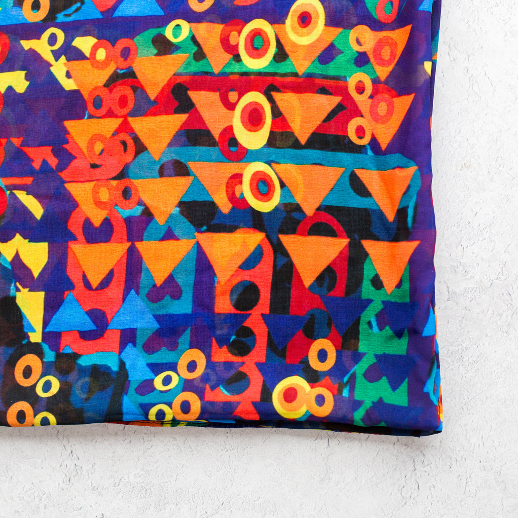 AK Wilde, Playful Shapes Scarf