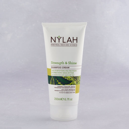 Nylah, Strength and Shine shampoo cream