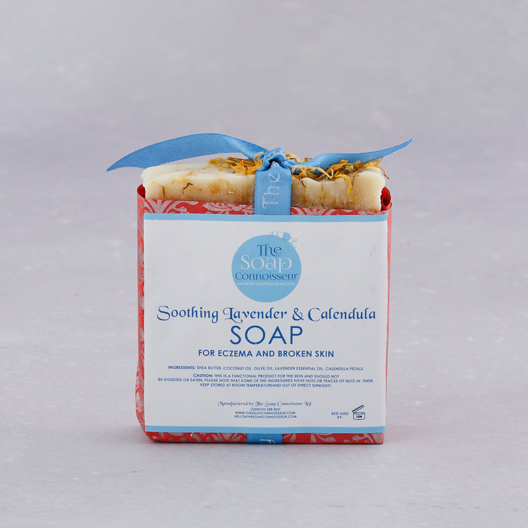 The Soap Connoisseur, Soothing Lavender & Calendula Soap