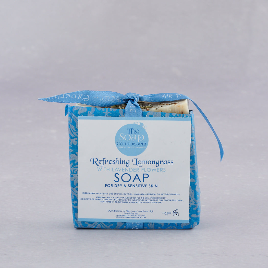 The Soap Connoisseur, Refreshing Lemongrass and Lavender Soap