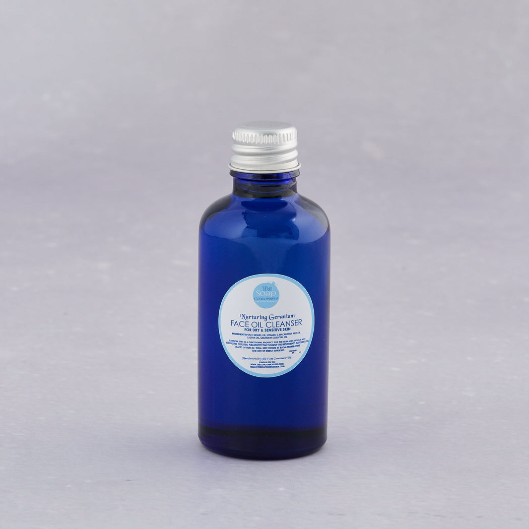 The Soap Connoisseur, Nuturing Geranium Face Oil Cleanser