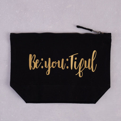 AfroTouch Design, Be:you:tiful Canvas Pouch