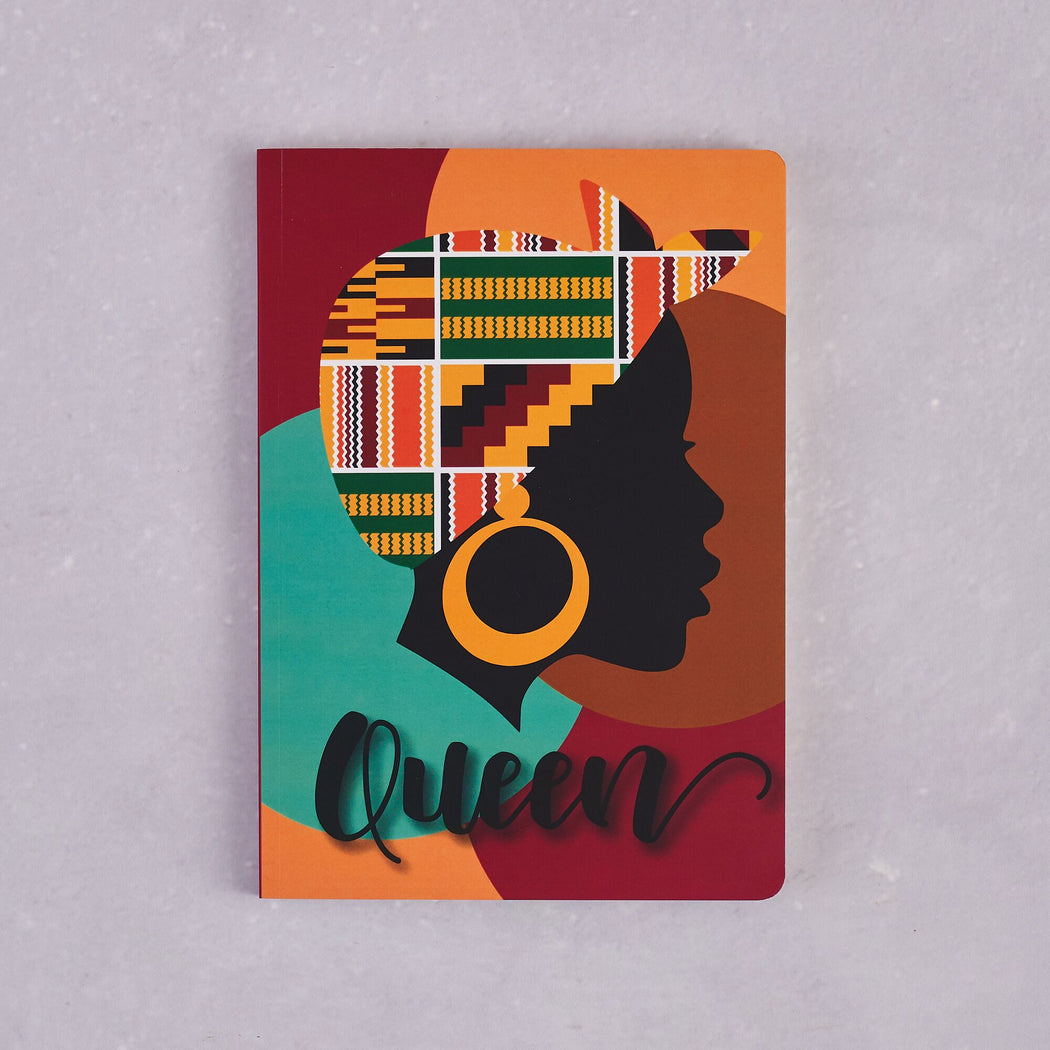 AfroTouch Design, Afrocentric Notebooks - Set of 2