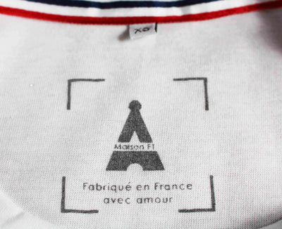 T-SHIRT MIXTE French Coco - Made in France T-shirt MIF - Maison FT made in France ou Bio