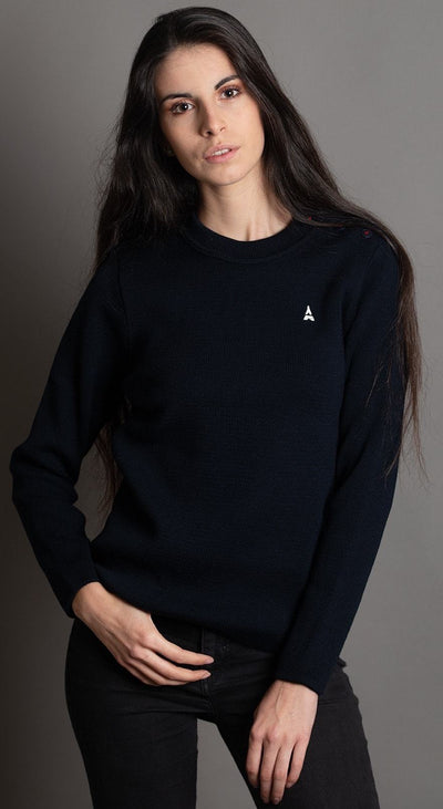 Coline unie Pull made in france - Maison FT made in France ou Bio