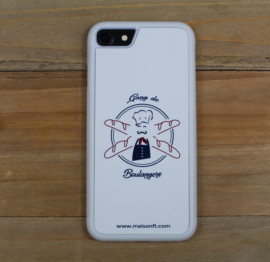 Coque iPhone Boulanger - Made in France