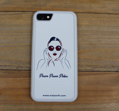 Coque Iphone Marilyn - Made in France Coque d'Iphone - Maison FT made in France ou Bio