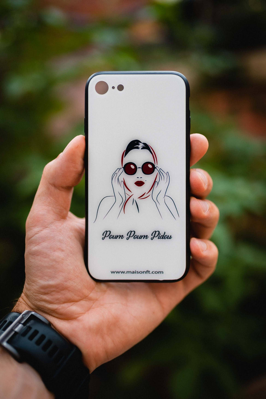 Coque Iphone Marylin - Made in France Coque d'Iphone - Maison FT made in France ou Bio