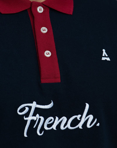 René French Polo made in France - Maison FT made in France ou Bio