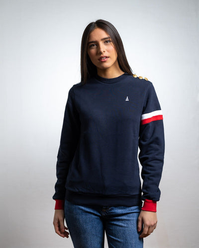 Sweatshirt Richard - Coton Bio Sweatshirt bio - Maison FT made in France ou Bio