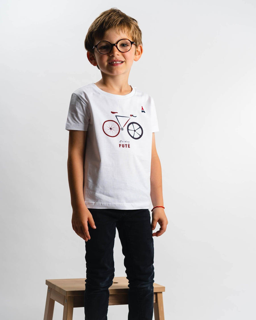 T-SHIRT Enfant Guidon futé - Made in France