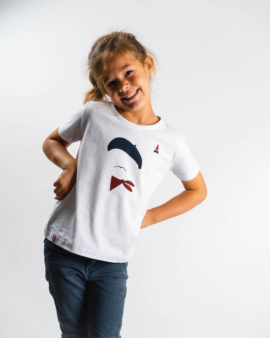 T-SHIRT Enfant Moustache - Made in France