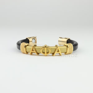 "Alpha Phi Alpha leather bracelet ""SANDZ"" 7RD"
