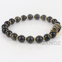 Alpha Phi Alpha Fraternity Stretch Beaded Bracelet