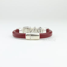 "Kappa Alpha Psi leather bracelet ""SANDZ"" SB - Phi Nu Pi edition"