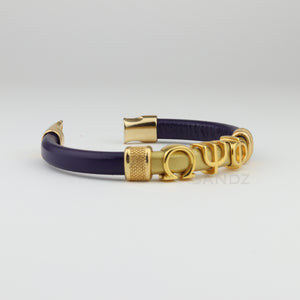 "Omega Psi Phi leather bracelet ""SANDZ"" 7RD"