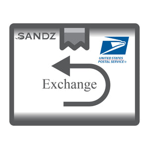 Shipping label: Exchange