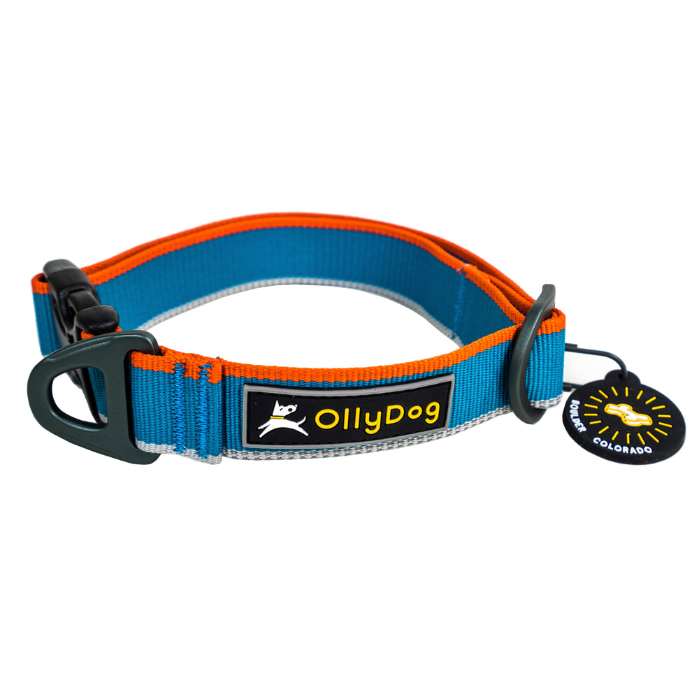 Urban Trail Reflective Collar - Air Blue