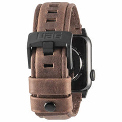 UAG Leather Strap Band Brown for Apple Watch 40/38 mm