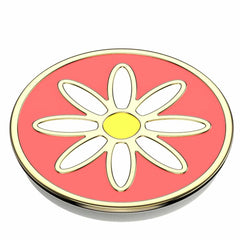 PopSockets PopGrip Enamel Quaint Daisy Coral