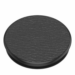 PopSockets PopGrip Peeble Vegan Leather Black