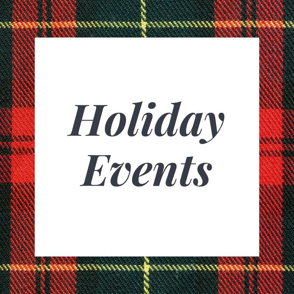 Upcoming Holiday Events