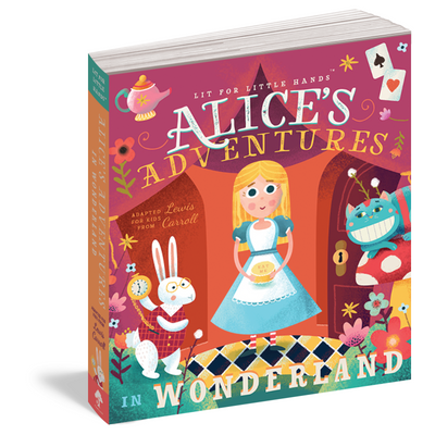 Alice's Adventures in Wonderland Board book for children - Smockingbird's