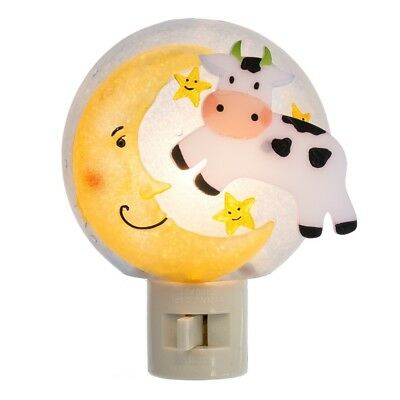 Cow Jumping over the moon nightlight - Smockingbird's