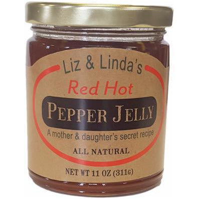 Liz and Linda's Red Hot Pepper Jelly - Smockingbird's