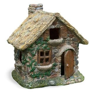 Fairy Garden Thatched Roof House