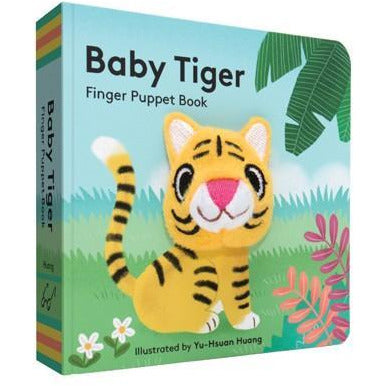 Baby tiger Finger Puppet Book - Smockingbird's