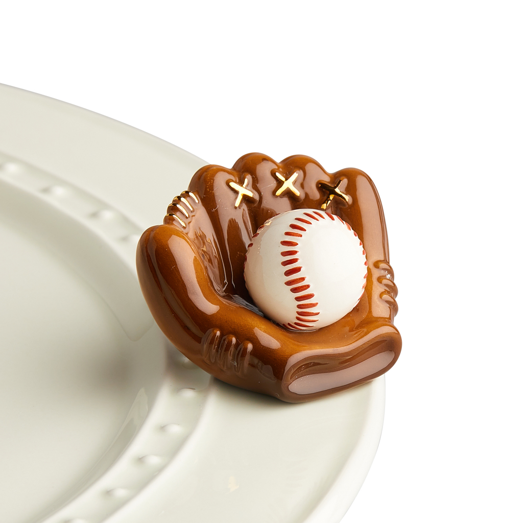 Nora Fleming Baseball Glove Mini