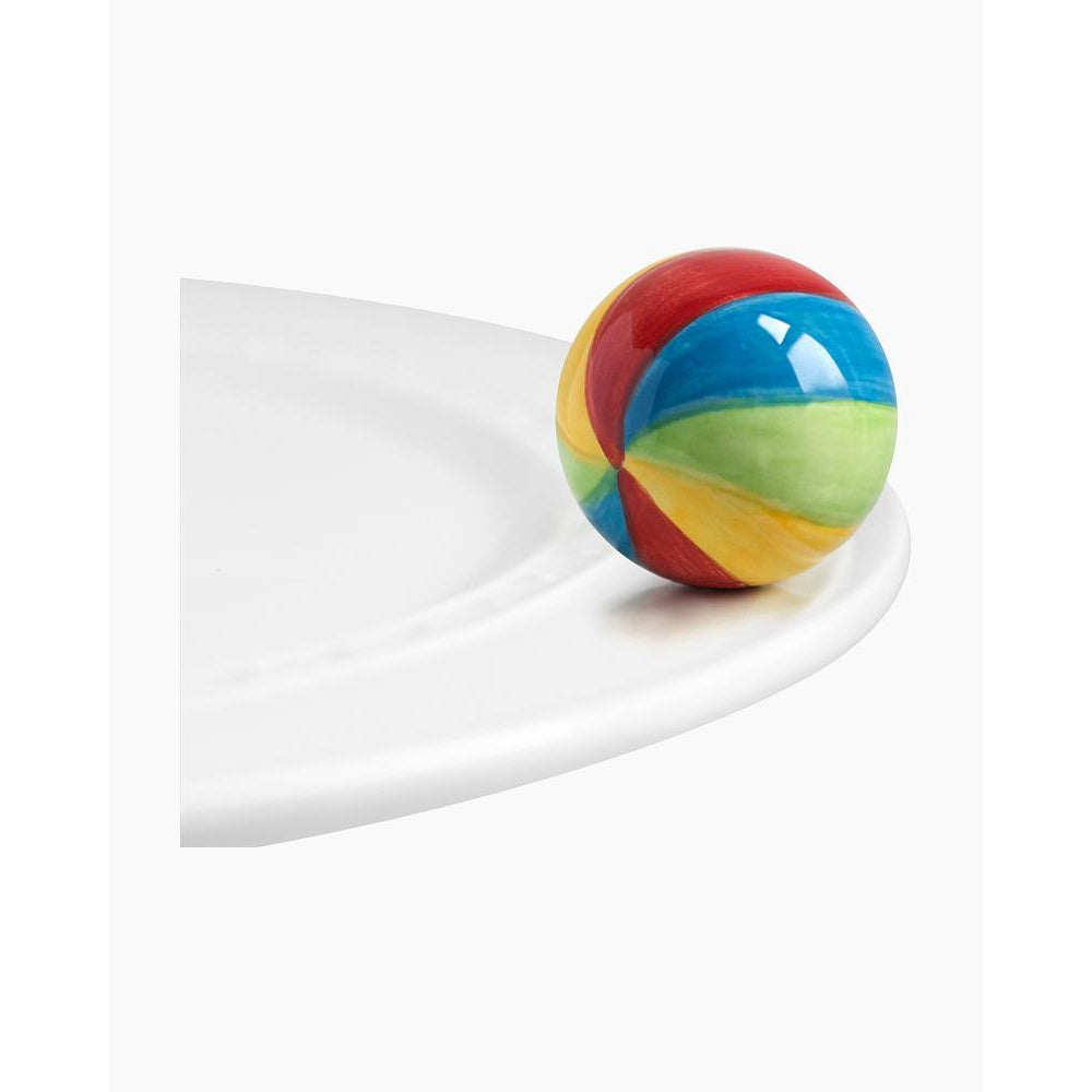 Nora Fleming Beach ball Mini-Smockingbird's