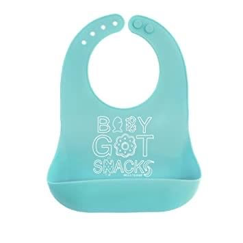 Bella Tunno Baby Got Snacks Silicone Wonder Bib - Smockingbird's