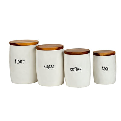 certified international Just Words Canister set - Smockingbird's