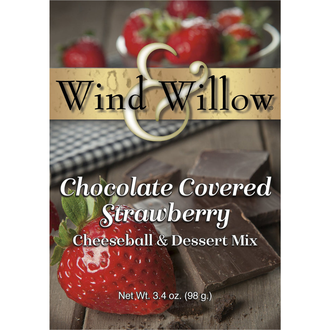 Chocolate Covered Strawberry Cheeseball & Dessert Mix by Wind & Willow - Smockingbird's