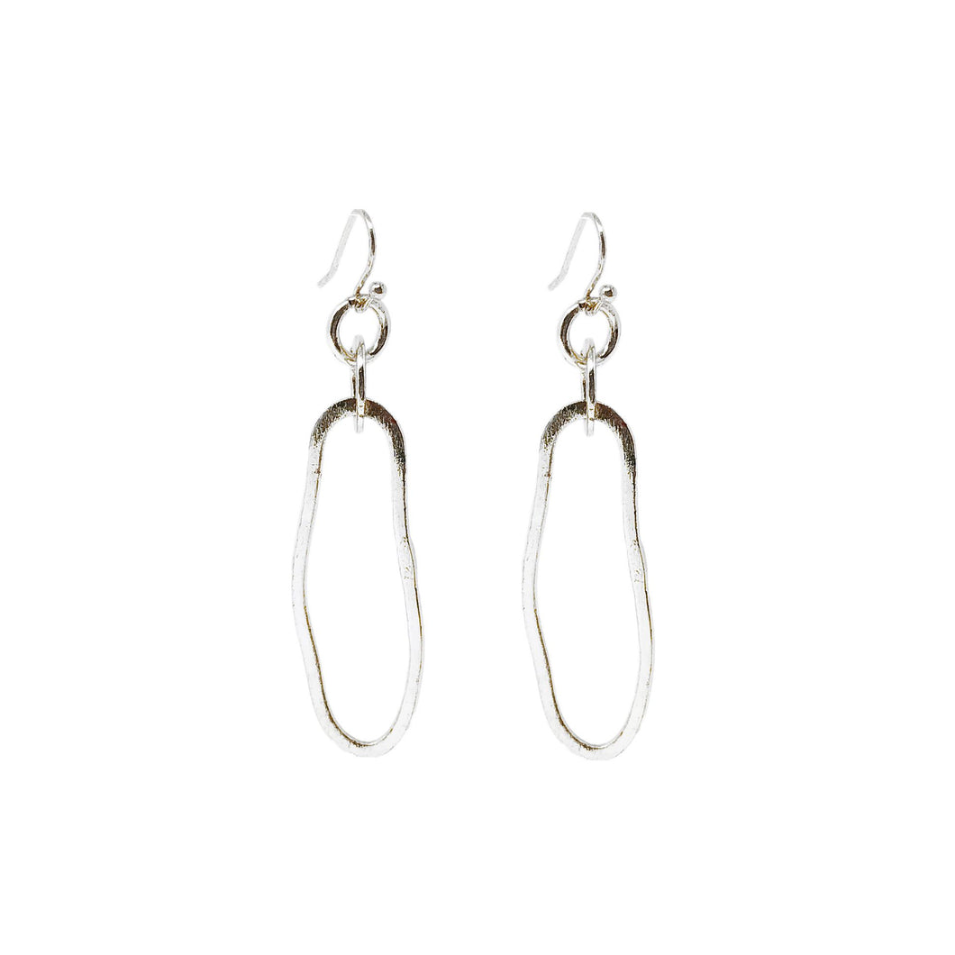 Fluid Dangling Drop Earrings - Smockingbird's