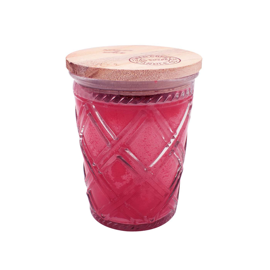 Frosted Cranberry Timeless Collection Jar Candle - Smockingbird's