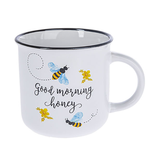 Good Morning Honey Stoneware Mug - Smockingbird's