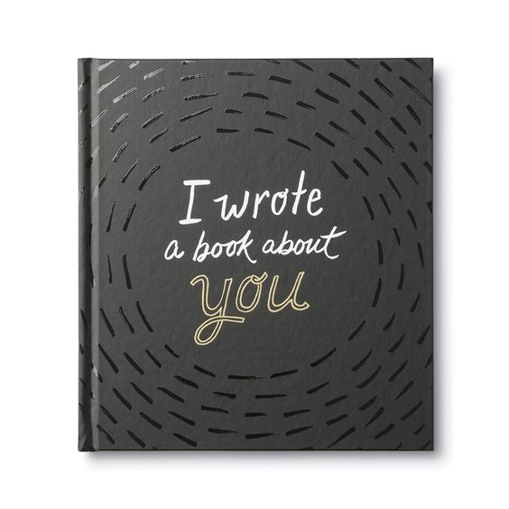 I wrote a book about you Gift Book - Smockingbird's