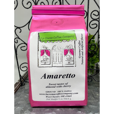 amaretto ground coffee -smockingbirds