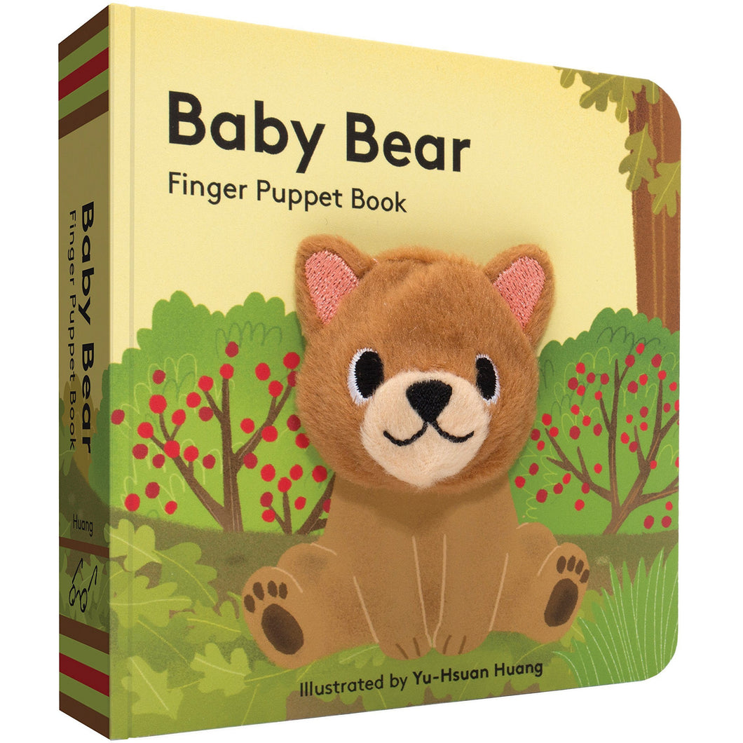 Baby Bear Finger Puppet Book - Smockingbird's