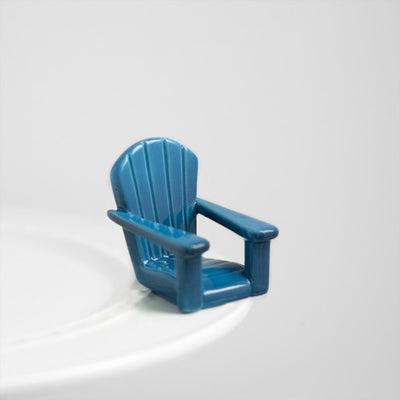 Nora Fleming Blue Chair Mini-Smockingbird's