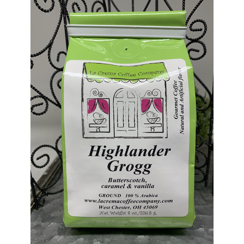 highlander grogg ground coffee -smockingbird's