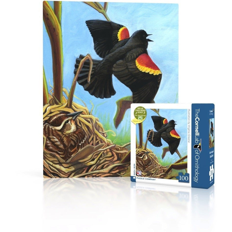 Red-winged Blackbird Mini Puzzle