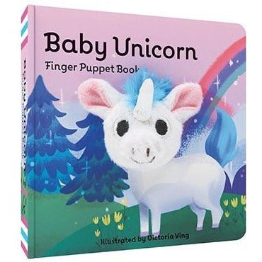 Baby Unicorn finger Puppet Book - Smockingbird's