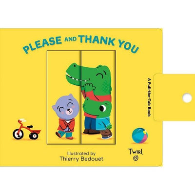 please and Thank you Board Book -Smockingbird's