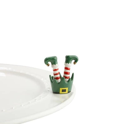 Nora Fleming elf legs mini - Smockingbird's